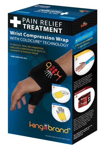King Brand Wrist Box 3d image ColdCure Compression