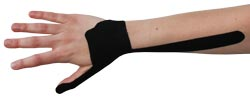 Kingbrand Black Tape for De Quervain's Tenosynovitis