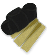 King Brand Coldcure Foot Wraps Come with Three 3 Gel Packs More Maximal Cooling Power and Comfort