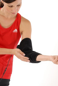 King Brand Elbow Wrap is Comfortable Tight and Easy to Adjust Coldcure BFST