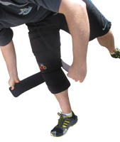 King Brand Large Body Wrap can be Used for Large Coverage on Knee Injuries