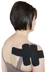 King Brand Shoulder Tape for Infraspinatus Supraspinatus