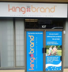 King Brand has a Physical Store in Burnaby, British Columbia.