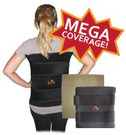 The King Brand Large Body Wrap can do Your Entire Back at Once