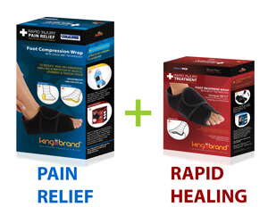 King Brand ColdCure and BFST Wraps Provide Pain Relief and Rapid Healing