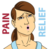 Pain Relief Face Expression