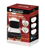 King Brand BFST Back/Hip Wrap In-Box Shop Image