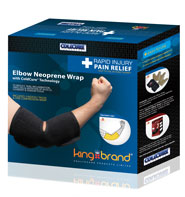 King Brand Coldure® Elbow Wrap Shop Product Box
