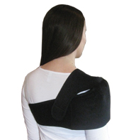 Wearing of the King Brand Side Shoulder Wrap