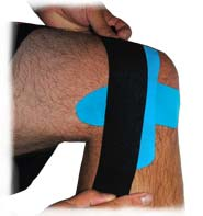 King Brand Support Tape Acts as Armour for Knee Injuries