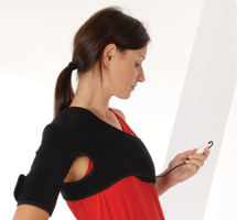 King Brand BFST Shoulder Wrap and Power Controller BFST Heals Shoulder Injuries Quickly