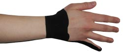 Kingbrand Wrist Tape for Extensor Tendons Capri