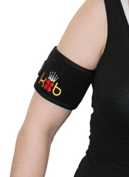 King Brand ColdCure Wrist Wrap on Bicep