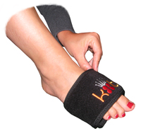 King Brand BFST and Coldcure Wrist Wraps Can Also be Used to Help with Foot Injuries