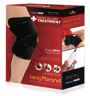 King Brand Knee Wrap BFST Product Blood Flow Stimulation Therapy Comfortable Quick Cheap Safe Heal Quickly